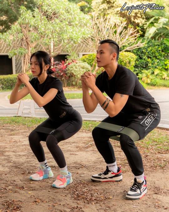 【LEXPORTS 勵動風潮】健身翹臀圈◆高量級 2.0 4