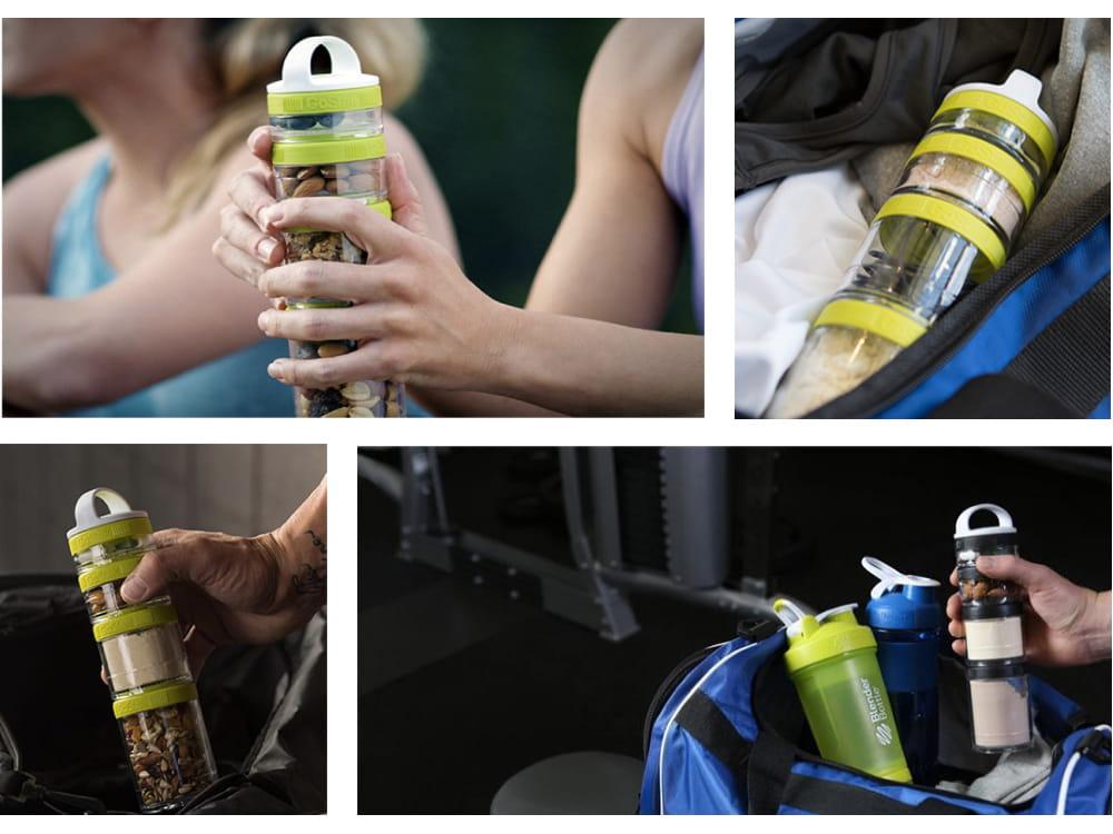 【Blender Bottle】Gostak系列|Tritan|多功能保鮮盒|4層|4色 1