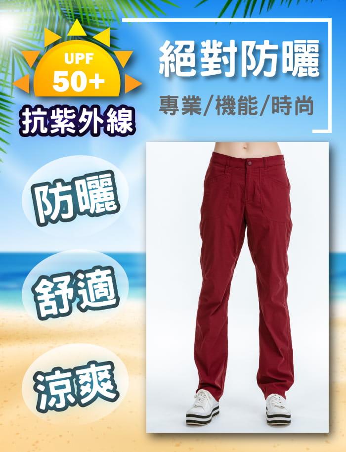 【JORDON】橋登 吸濕排汗/抗UV 休閒機能長褲 3