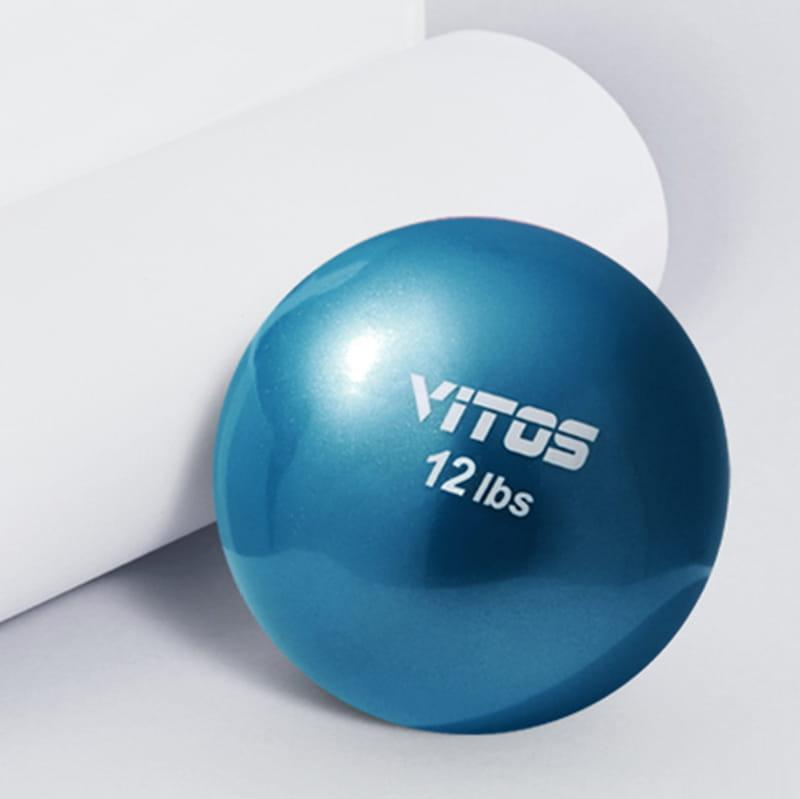 【Vitos】 馬甲球 瑜伽重力球 12磅 0