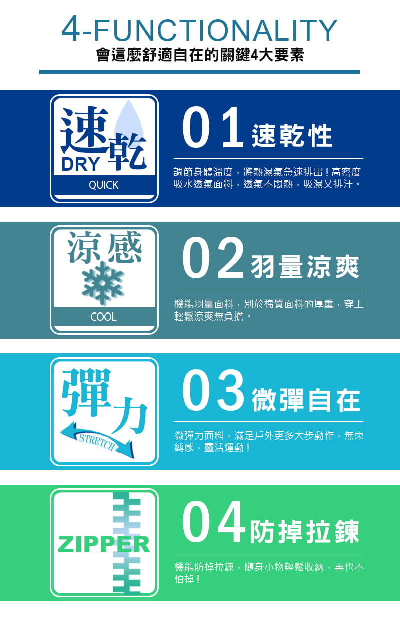 【JU休閒】機能涼爽 透氣速乾 吸溼排汗束口運動褲 速乾褲(多款任選) 3