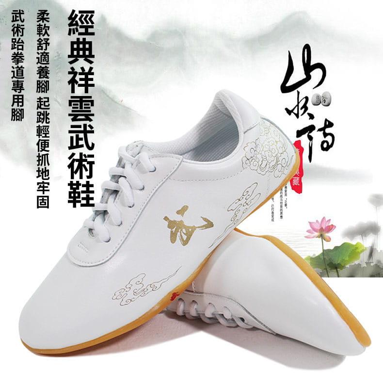 武術鞋太極鞋男女牛筋底薄底練功夫鞋 2