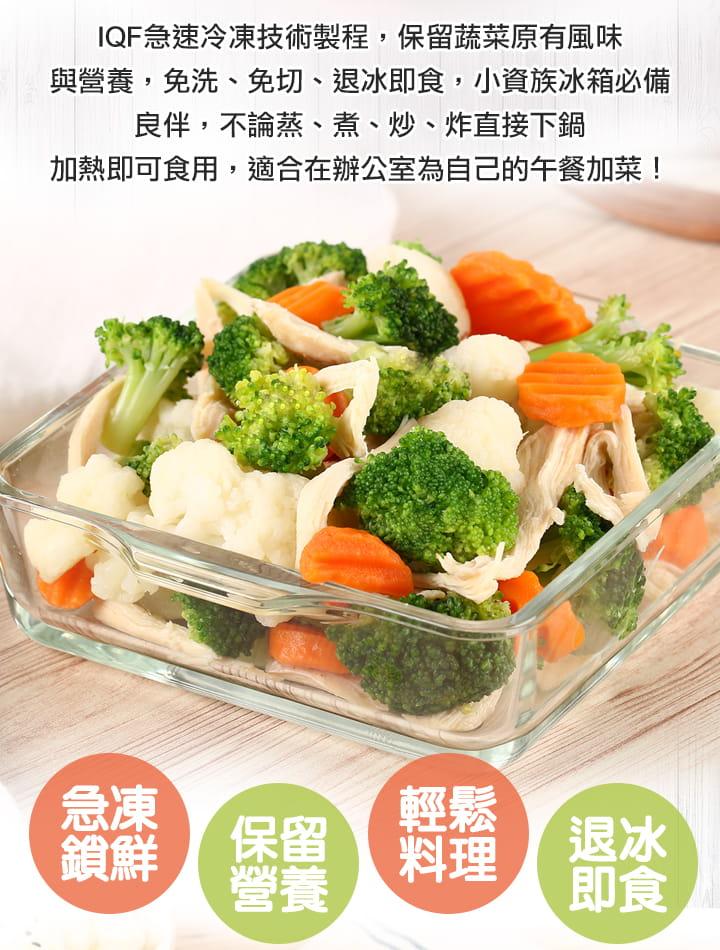 【愛上健康】減脂組合餐  (海鹽雞胸/綜合蔬菜/冰烤地瓜) 5