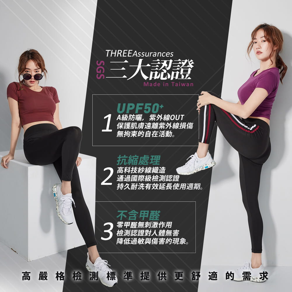 【BeautyFocus】新肌感三大驗證抗縮運動休閒褲 7