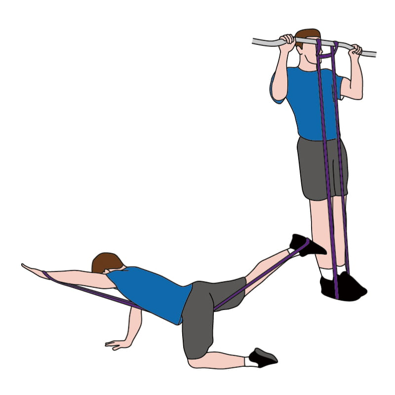 成功牌乳膠訓練拉力帶(進階用) 8
