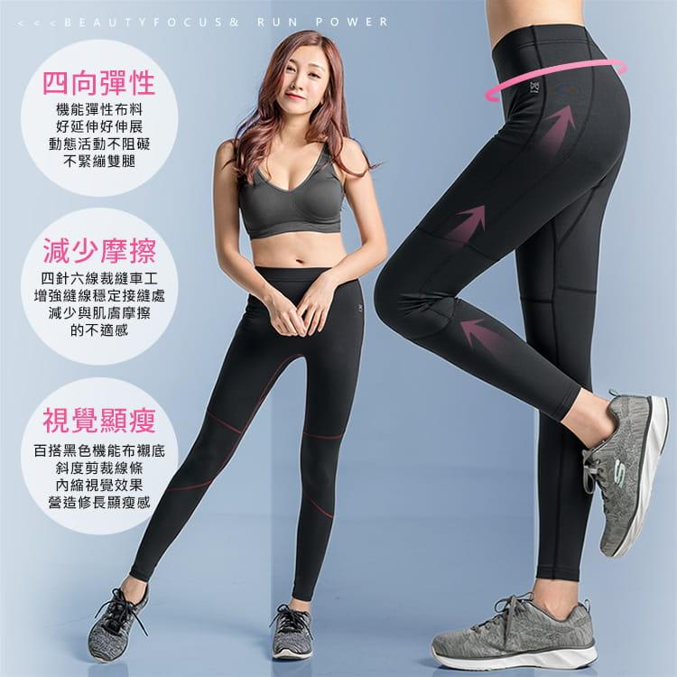 【BeautyFocus】男女智能調節運動壓力褲 4