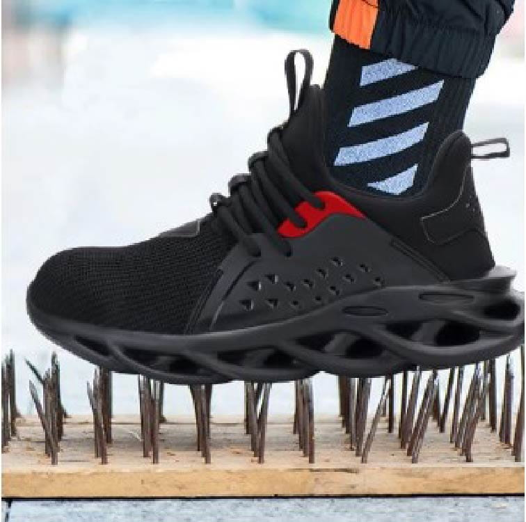 【尼斯生活】黑彈簧機能鋼鐵鞋 13