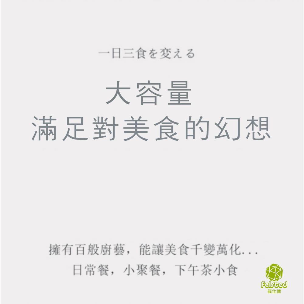 【BSMI認證 買單鍋送蒸籠】菲仕德多功能電煮鍋F-188 R3D593(贈蒸籠) 9