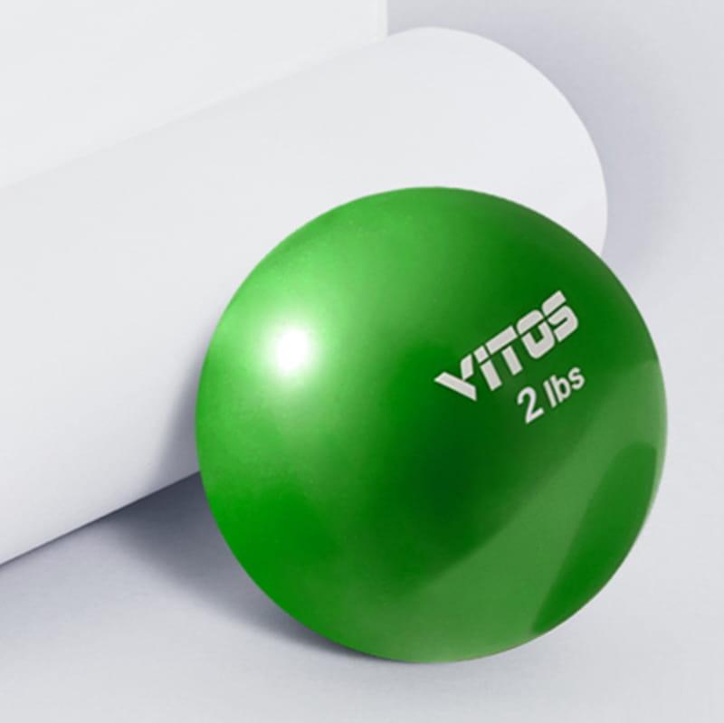 【Vitos】 馬甲球 瑜伽重力球 12磅 3
