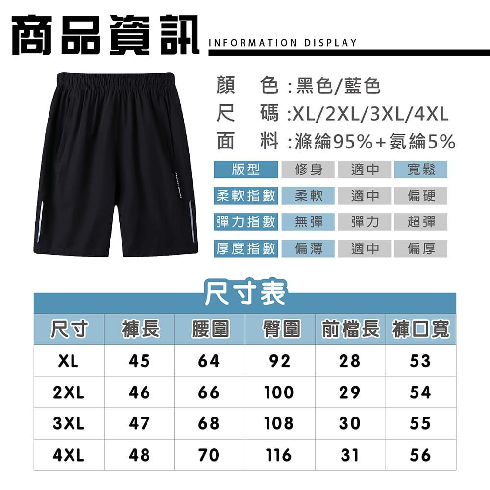 【NEW FORCE】清爽透氣速乾健身短褲-2色可選 10