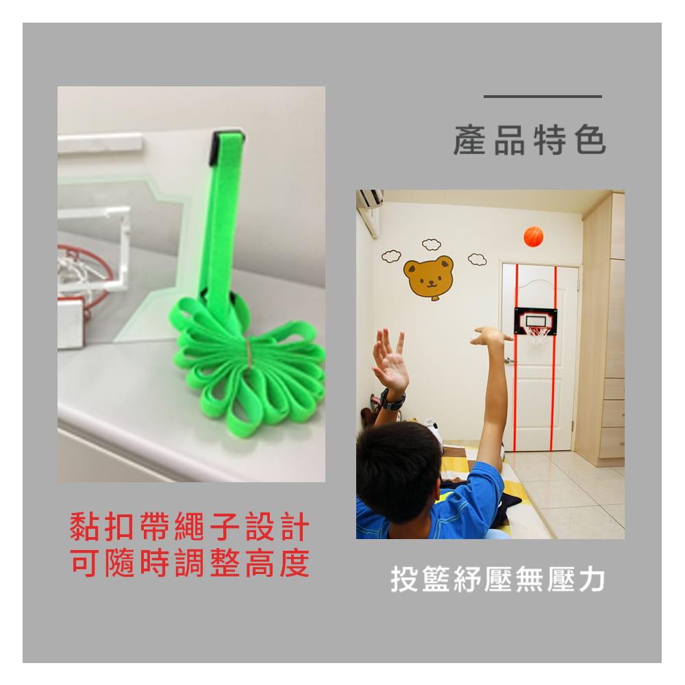 迷你籃球投籃組 ◆台灣製 MINI 兒童 籃板 籃框 室內用NBA 可調整高度 灌籃 投籃 斯伯丁 4
