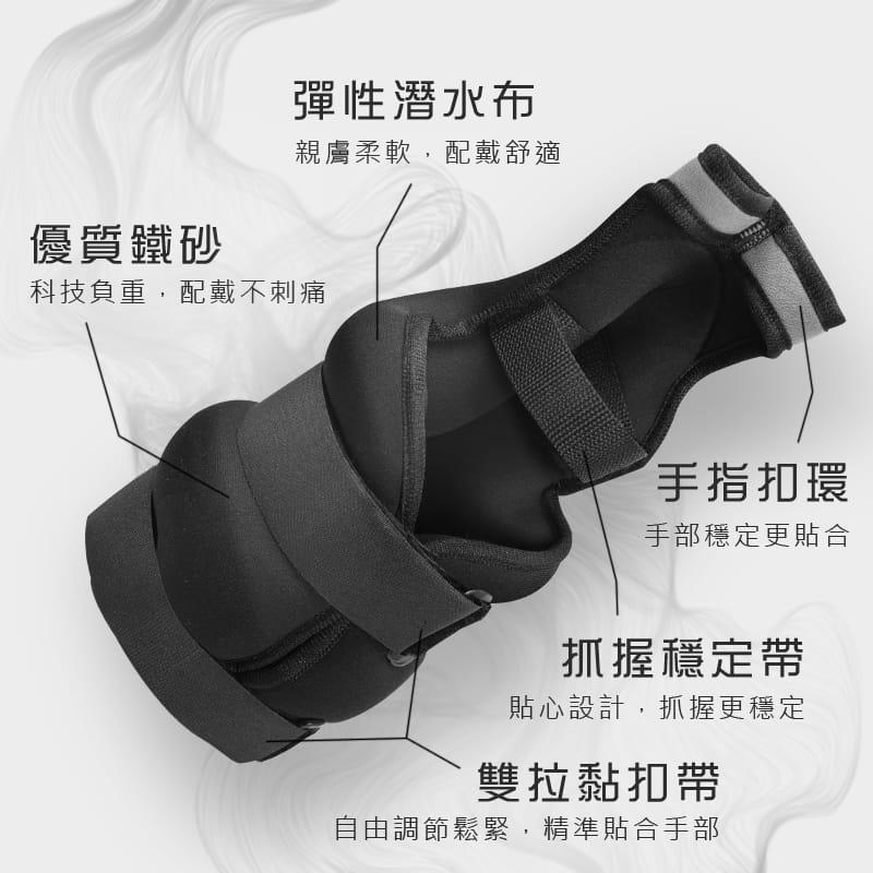 【MACMUS】10公斤拳擊型運動沙包 手部用負重沙袋  1