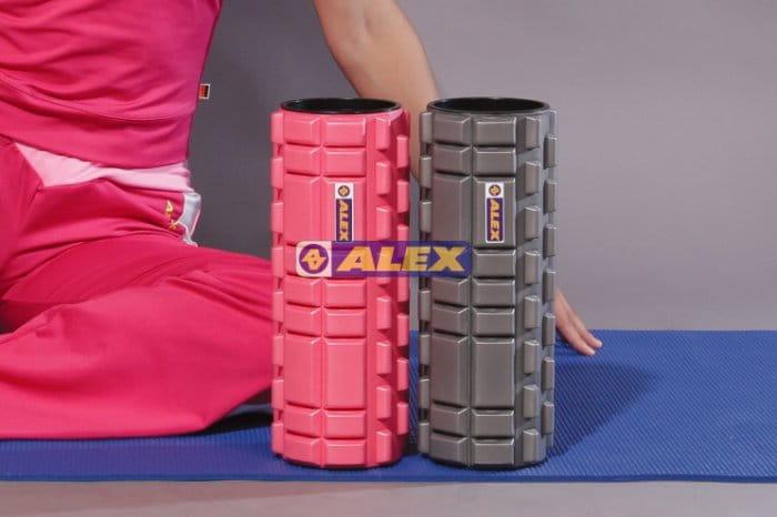 【ALEX】多功能瑜珈滾筒 按摩滾輪  瑜珈柱 1