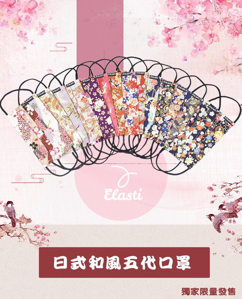 台灣製日式和風口罩(買口罩送10片拋棄式濾片)