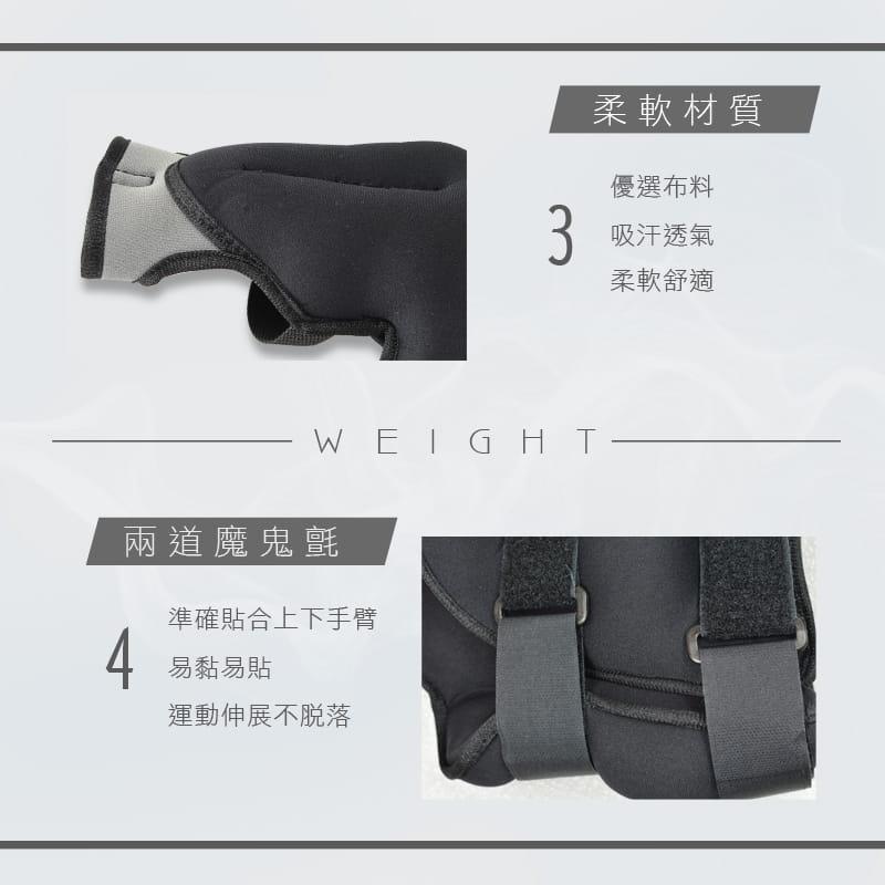 【MACMUS】10公斤拳擊型運動沙包 手部用負重沙袋  7