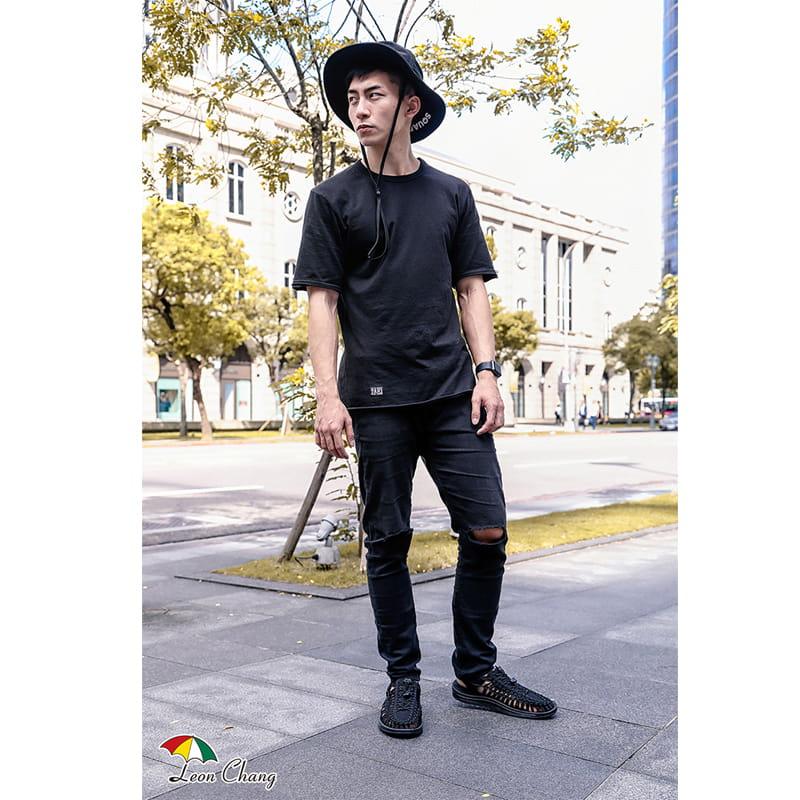 【Leon Chang】【LC雨傘】 編織運動涼鞋 3
