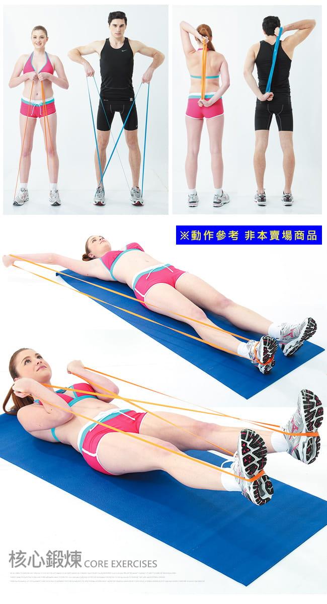 台灣製造70磅大環狀彈力帶  (LATEX乳膠阻力繩.手足阻力帶) 4