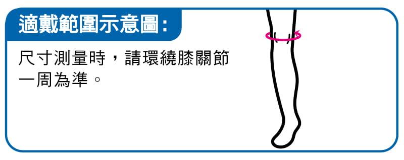 【ALEX】 T-20中長型護膝 跑步 慢跑 馬拉松 羽毛球 騎車 三鐵各種運動適用 台灣製造 3