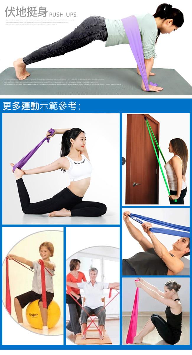 【SAN SPORTS】台灣製造8LB彼拉提斯帶   瑜珈帶彈力帶 10