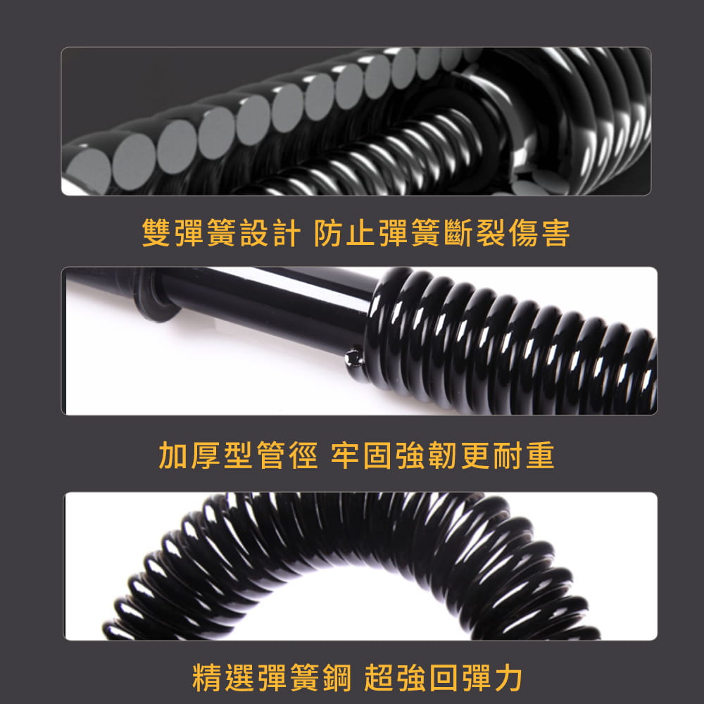 40公斤臂力器◆雙簧 臂力棒 彈簧棒 握力 腹肌 二頭肌 胸肌 伏地挺身 健肌器 重訓 健身舉重 4