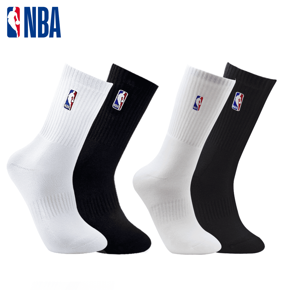 【NBA】 經典款全毛圈半毛圈刺繡長襪 0