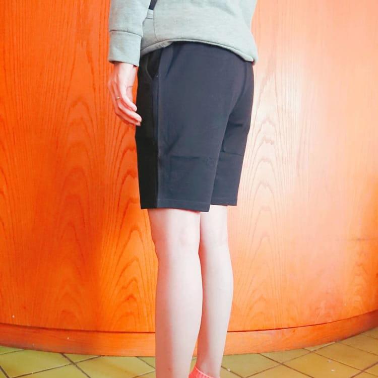 棉質休閒運動短褲 薄款透氣 抽繩男女款 舒適健身褲 6