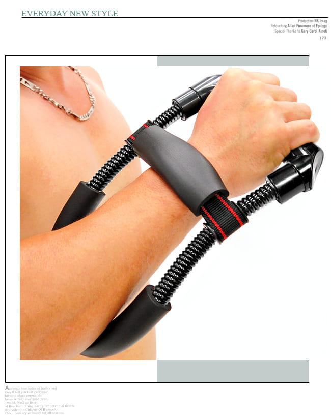 阻力40KG手腕訓練器 (90LB腕力器腕力訓練器/握力器手臂力器健臂器) 5