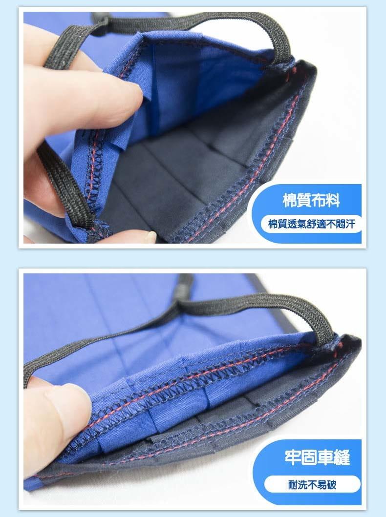 【ELASTI】台灣製MIT成人純棉布可水洗防護口罩(送50片不織布濾片) 2