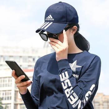 【adidas】經典(三條線) 老帽 運動棒球帽 3