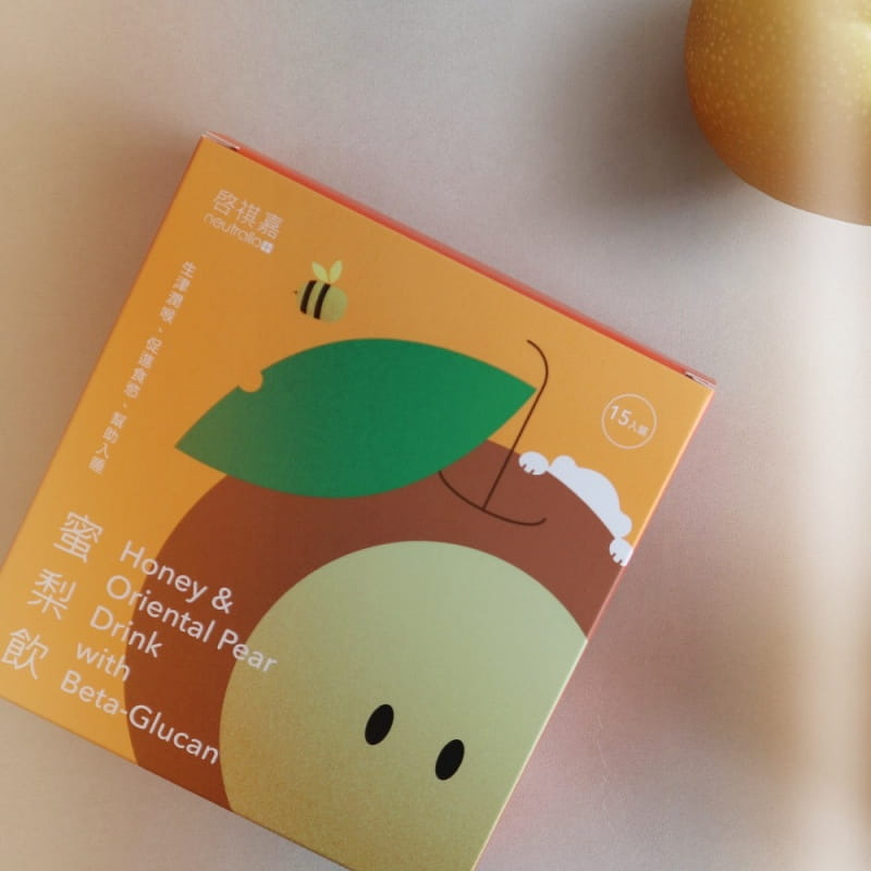 【啓祺嘉neutrallo+】蜜梨飲- 台灣荔枝蜜 水梨 有機白木耳 0