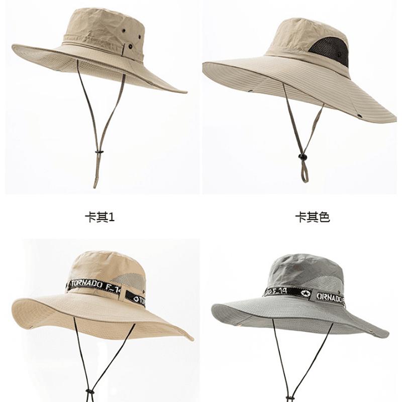 戶外防曬工地釣魚遮陽帽 3