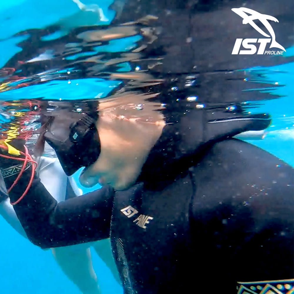 【IST】WSH-03 二件式Neoskin自由潛水防寒衣 8