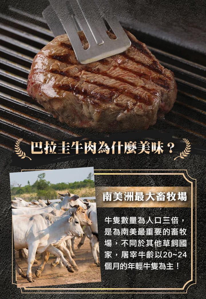 【愛上健康】特級修清菲力牛排 3