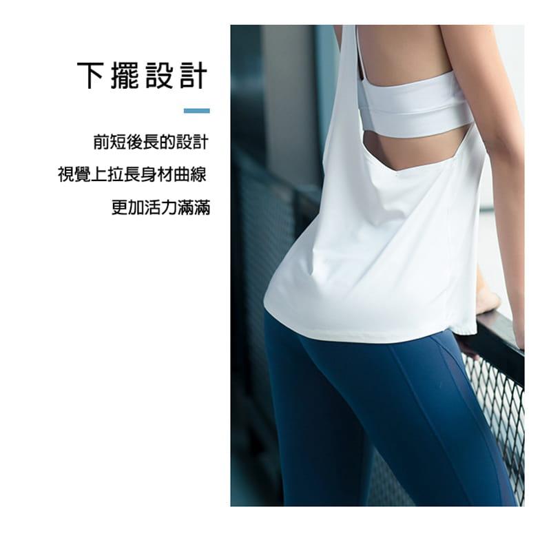 【JAR嚴選】運動健身速乾機能顯瘦背心 4