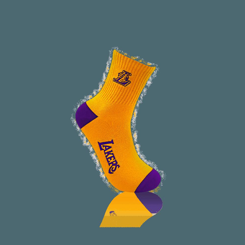 【NBA】球隊款緹花中筒襪 10