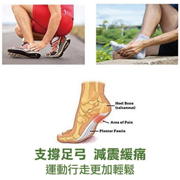 足體工學足弓減壓記憶墊(單支) 高足弓墊 3