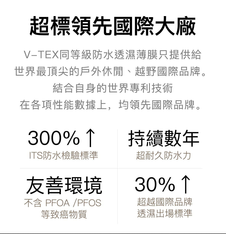 【V-TEX 地表最強防水鞋】【V-TEX機能防水鞋】Shark系列 夜武士 10