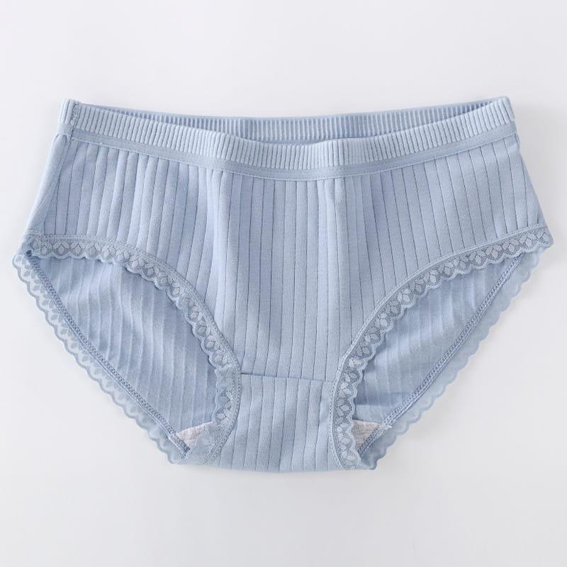 優質呵護螺紋透氣內褲(共6色) 9