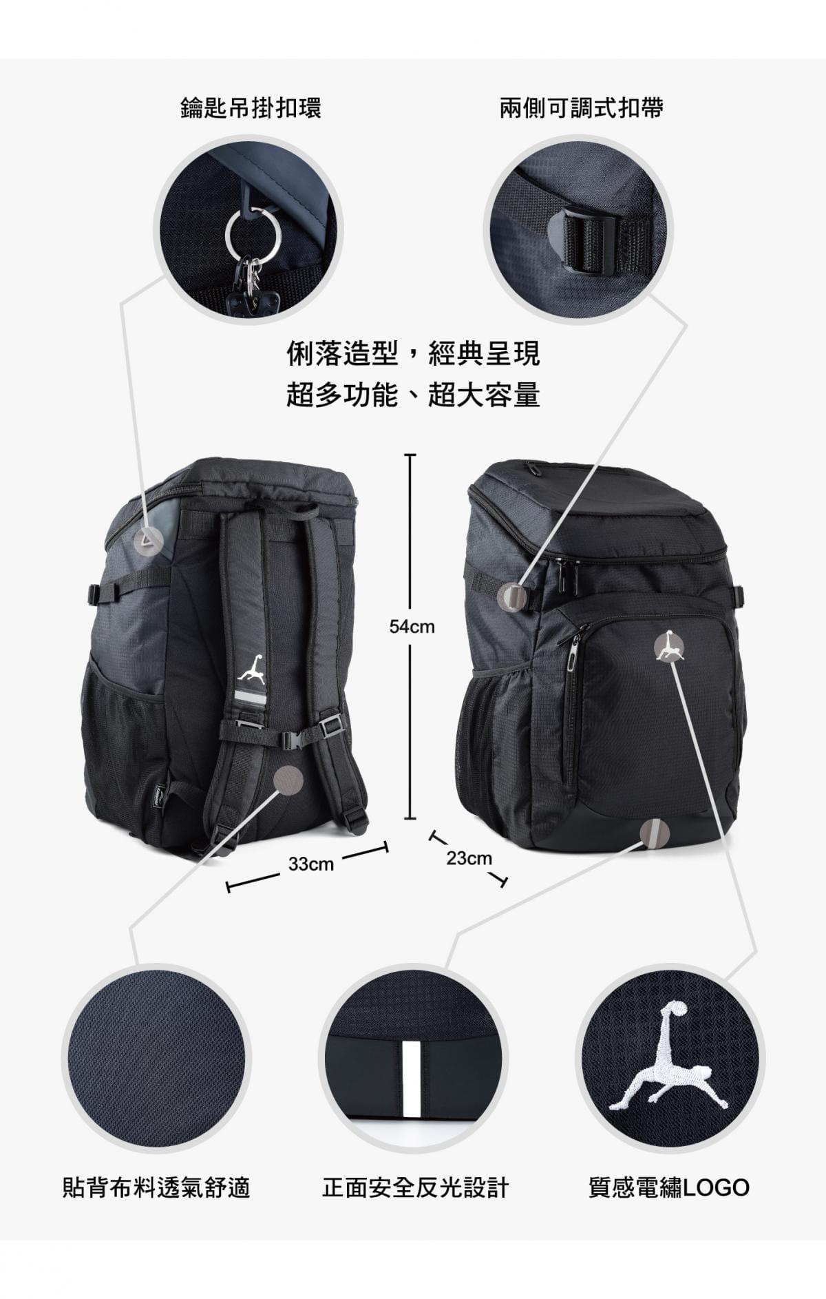 Loopal BLAKE 2.0款 高機能 頂規收納雙肩背包 10