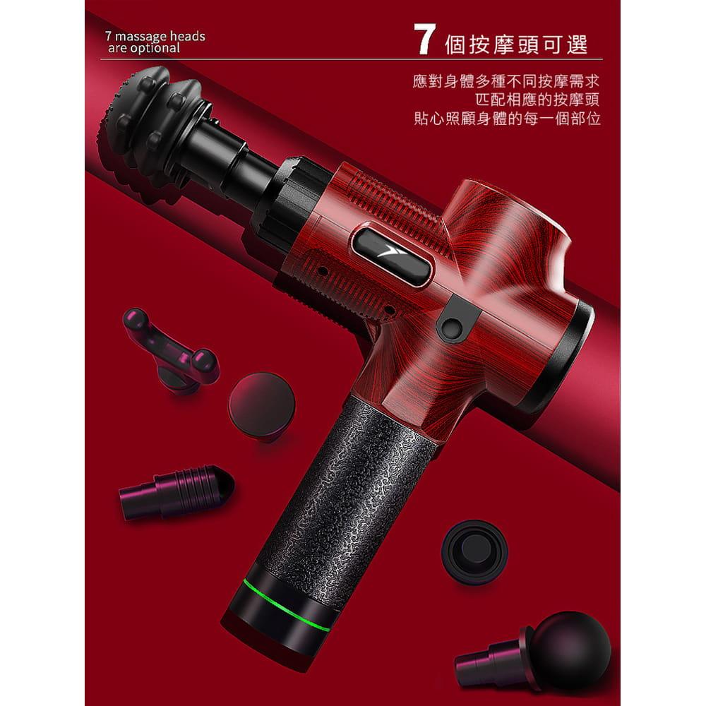 悅步雙頭電動筋膜槍-豪華款30檔(台灣BSMI認證保固一年) 14