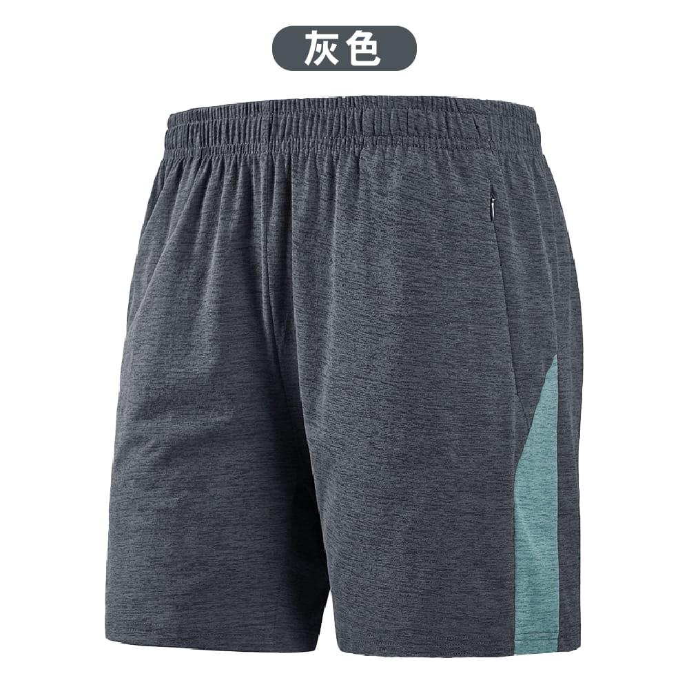 【NEW FORCE】輕量快乾鬆緊拉繩五分短褲-2色可選 10