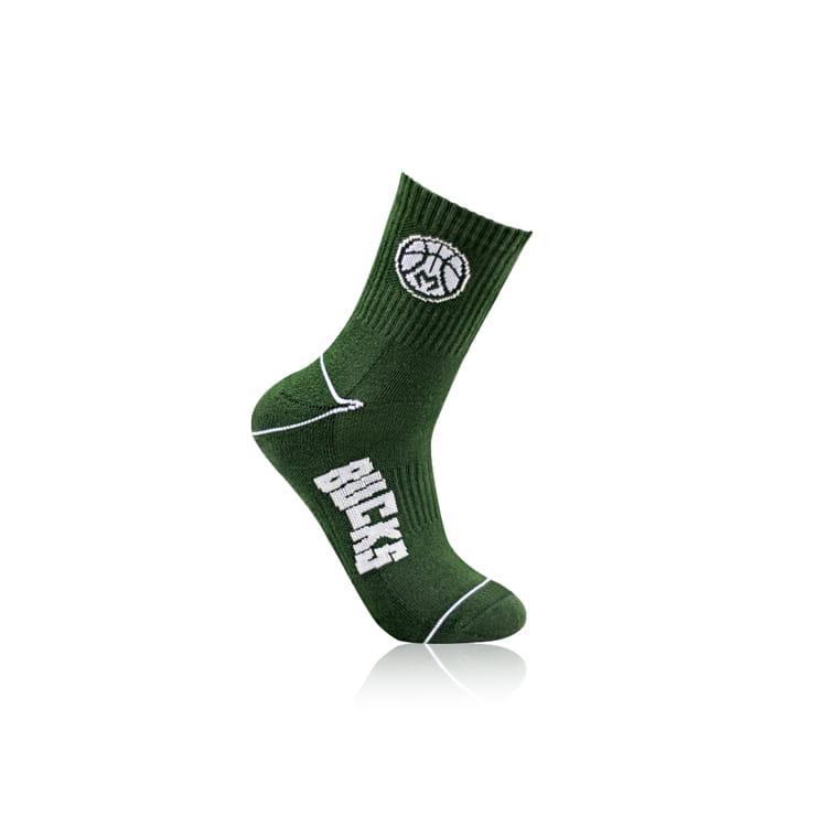 【NBA】 公鹿隊球迷裝備襪巾組合 6