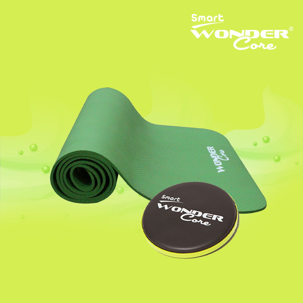 【Wonder Core】居家核心扭腰組(扭腰盤+運動墊) 1
