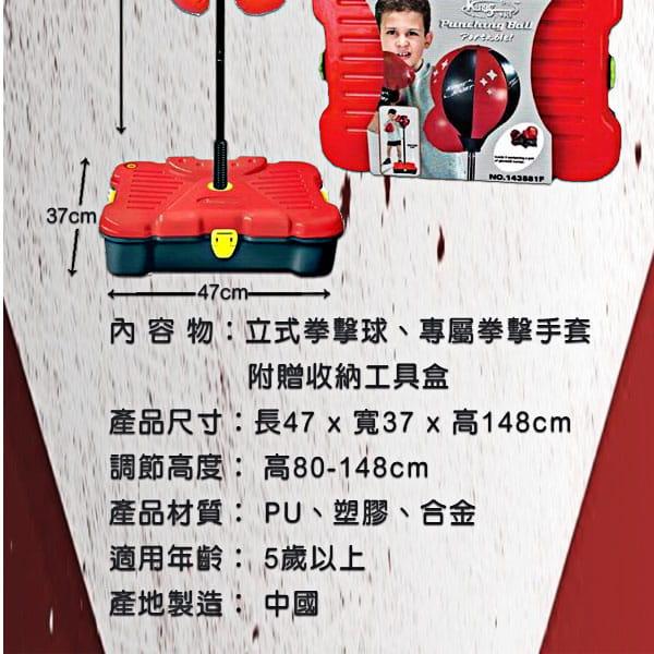 【史酷迪】可攜帶式兒童有氧拳擊訓練組 8