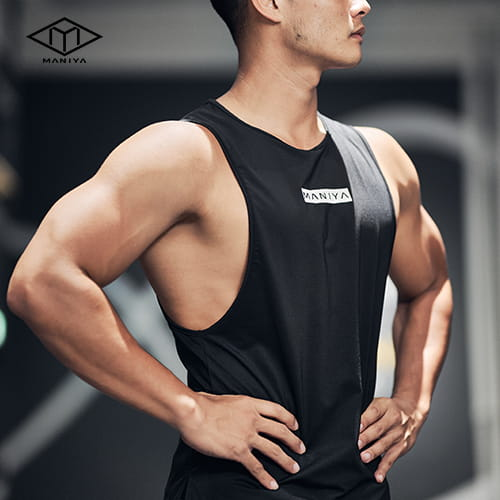 MANIYA健身背心[男]-/白/黑/軍綠 0