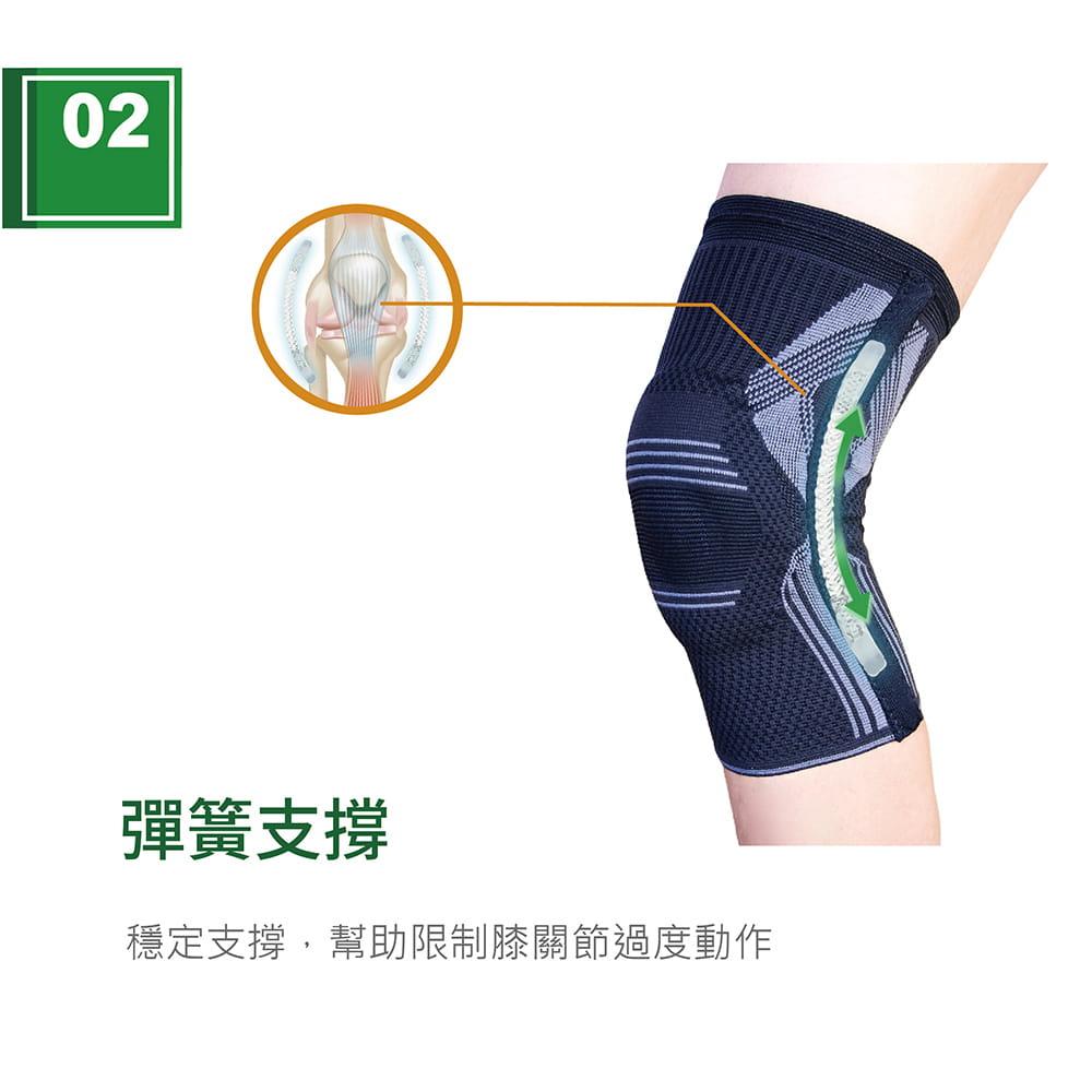 【艾肯仕】AC-7S02套入式凝膠護膝(MIT台灣製造) 3