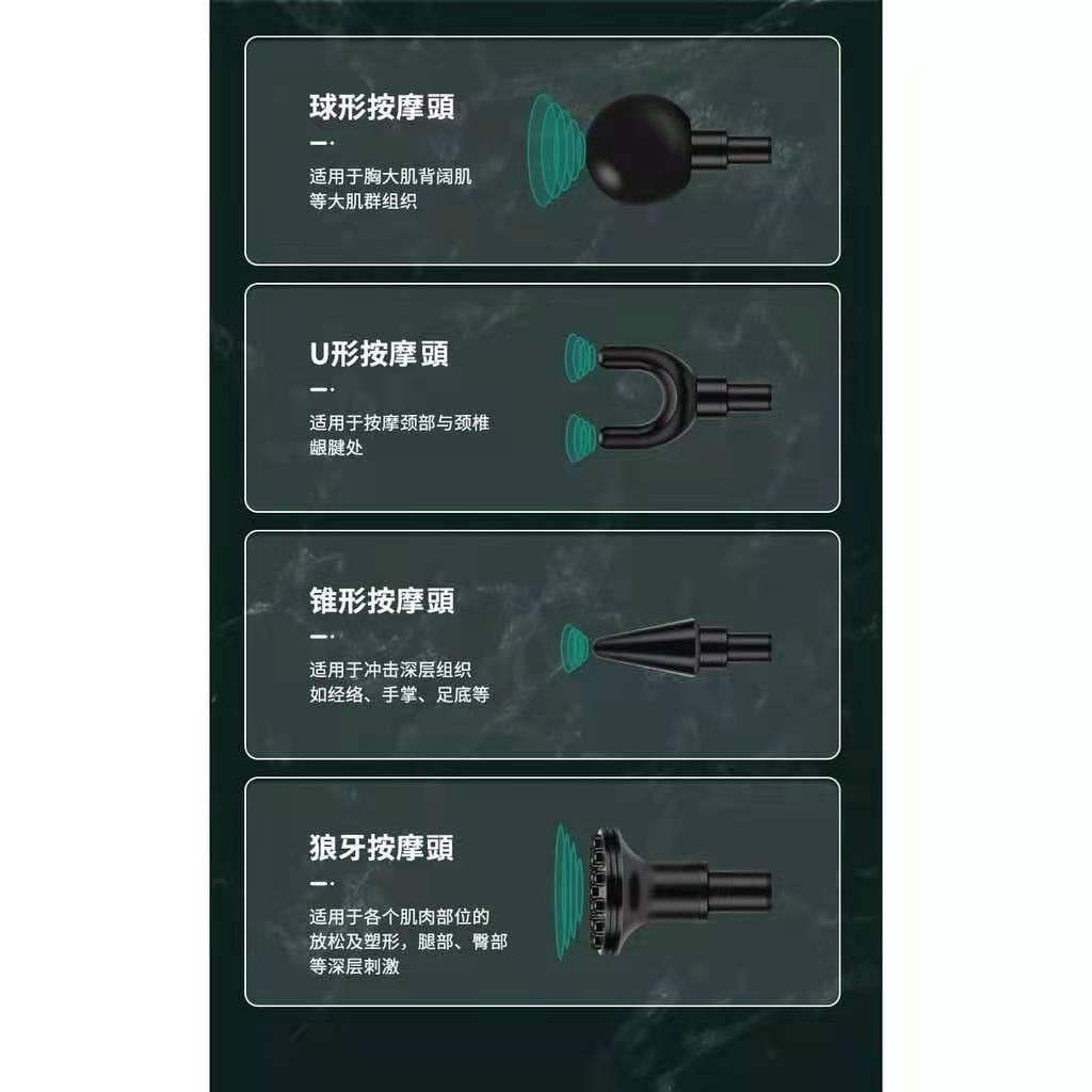 升級款折疊迷你筋膜槍 4段變速電動筋膜槍 全身按摩槍 肌肉經絡深度緩解酸痛 運動按摩 迷你筋膜槍 2