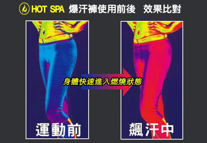 美國HOT SPA NEOTEX壓力爆汗七分褲 8