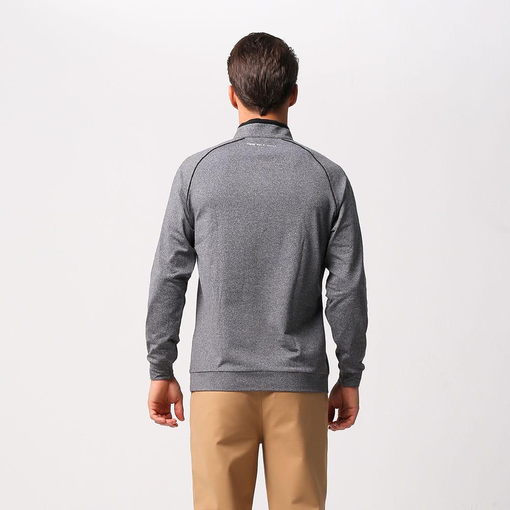 【MEGA COOHT】 男輕刷毛立翻領修身顯瘦經典款運動保暖衫 日本運動熱銷莫蘭迪色 2