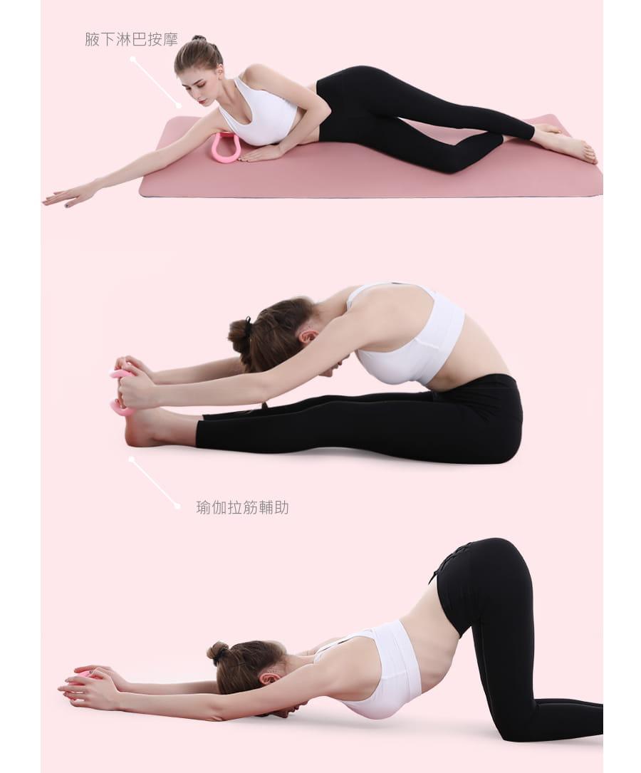【Un-Sport高機能】Fitness Kit女力健身超值套組(8字拉力帶+瑜珈環) 10